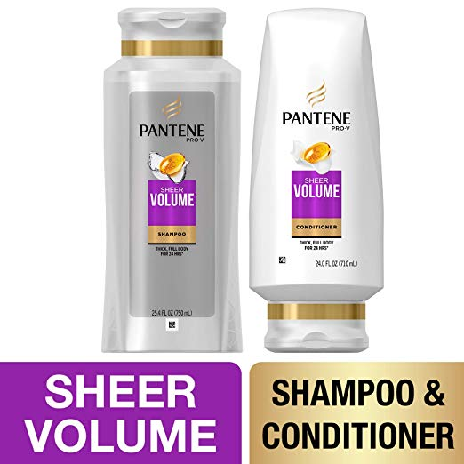 Prime Day Beauty Sale - Pantene Shampoo And Sulfate Free Conditioner Kit