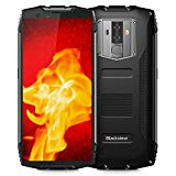 Rugged Cell Phones Unlocked, Blackview BV6800 Pro IP68 Waterproof Unlocked Smartphone, Android 8.0 4G LTE Dual SIM, 5.7 Inches FHD+ IPS,Octa Core 4GB+64GB, 6580mAh, 8MP+16MP, for AT&T T-Mobile,Black