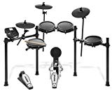 Alesis Drums Nitro Mesh Kit | Eight Piece All-Mesh Electronic Drum Kit With Super-Solid Aluminum Rack, 385 Sounds, 60 Play-Along Tracks, Connection Cables, Drum Sticks & Drum Key included