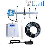 Phonelex Cell Phone Signal Booster Verizon 4G LTE Band13 700Mhz Verizon Cell Phone Signal Amplifier Repeater Mobile Phone Signal Booster with Indoor Whip/Outdoor Yagi Antenna for Home Use
