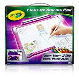 Crayola Light-Up Tracing Pad Pink, Amazon Exclusive, Gift, Toys for Girls, Ages 6, 7, 8, 9, 10