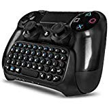 PS4 Keyboard,Prodico 2.4G Wireless Gamepad Chatpad Message Keyboard for PS4 Controller