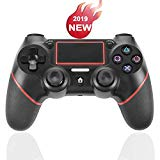 PS4 Controller,Wireless Bluetooth Game Controller Gamepad, Mini LED Indicator, USB Cable and Audio Function,for Playstation 4/Pro/Slim/PC and Laptop