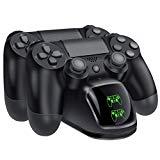 BEBONCOOL PS4 Controller Charger, DualShock 4 Controller USB Charging Station Dock, PlayStation 4 Charging Station for Sony Playstation4 / PS4 / PS4 Slim / PS4 Pro Controller