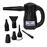 XPOWER A-2 Airrow Pro Multi-Use Electric Computer Duster Dryer Air Pump Blower - Black