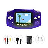 FAITHPRO Handheld Game Console with Built in 400 Games, 2 Player 3 Inch Screen USB Charger Supports TV Output Retro FC Video Game Console, Good Gifts for Kids and Adults