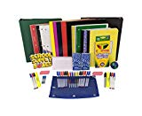 "Secondary School Essentials Back to School Kit - School Supplies Bundle Includes 1"" Binder, Folder, Notebook, Filler Paper, Mechanical Pencil, Note Card, Black & Blue Pen, Stress Ball - 51 Pieces"