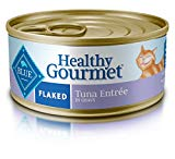 Blue Buffalo Healthy Gourmet Natural Adult Flaked Wet Cat Food, Tuna 5.5-oz cans (Pack of 24)