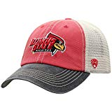 Top of the World Men's Relaxed Fit Adjustable Mesh Offroad Hat Team Color Icon, Illinois State Redbirds Red