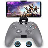Anfiner Foldable Controller Mobile Phone Holder/Cellphone Clamp/Clip Compatible with Microsoft Xbox One/Xbox One S/Steelseries Nimbus/SteelSeries Stratus XL/Steam Controllers(Controller not Included)