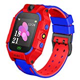 Karaforna Kids Smartwatch Phone Boys Girls - Game Smart Watch with Call Games Camera Alarm 1.54 inch Touch Screen Wristwatch Cellphone Watch for Students Cellphone Watch Children Birthday Gifts (red)