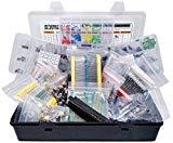 Electronic Component Assortment, Resistors, Capacitors, Inductors, Diodes, Transistors, Potentiometer, IC, LED, PCB, 2000 pcs