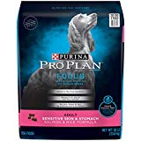 Purina Pro Plan Sensitive Stomach Dry Dog Food, FOCUS Sensitive Skin & Stomach Salmon & Rice Formula - 30 lb. Bag