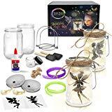 Fairy Nightlight Lantern Craft Kit (2 Pack) - DIY Make Your Own Fairy Lantern Jar - Craft Project for Kids - Great Gift (Fairy Lantern 2 Pack) ...