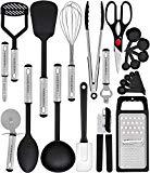 Home Hero Kitchen Utensil Set - 23 Nylon Cooking Utensils - Kitchen Utensils with Spatula - Kitchen Gadgets Cookware Set - Best Kitchen Tool Set
