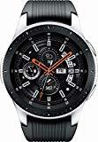 Samsung SM-R805UZSAXAR Galaxy Watch Smartwatch 46mm Stainless Steel LTE GSM (Unlocked), Silver (Renewed)