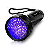 UV Flashlight Black light UV Lights , Vansky 51 LED Ultraviolet Blacklight Pet Urine Detector For Dog/Cat Urine,Dry Stains,Bed Bug, Matching with Pet Odor Eliminator