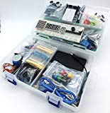 jdhlabstech MEGA 2560 Starter Kit Ultra (100% Arduino IDE Compatible) w/battery holder, WiFi, Bluetooth, Sensors, Modules, Resistor kit and Components (no supply)