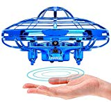 POWERbeast Drones for Kids,Flying Toys for Boys Gifts,Hand Operated Self Flying Drone for Beginner with Obstacle Avoidance,Auto Hover Flying Ball,Boys Toys