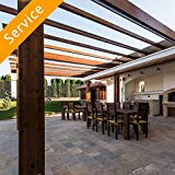 Pergola Assembly - On a Patio
