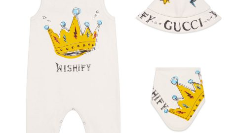 Wishify Crown 3-Piece Layette Set, Size 0-12 Months