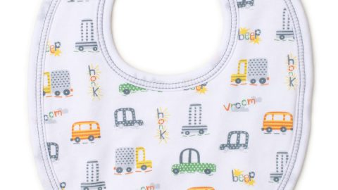 Wild Wheels Pima Bib