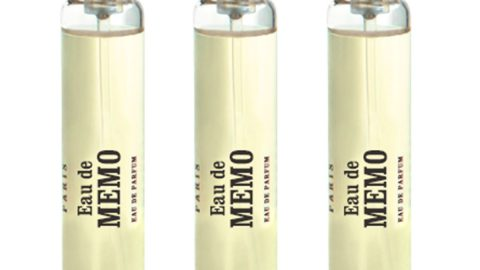 Eau de Memo Travel Spray Refills, 3 x 0.3 oz./ 10 mL