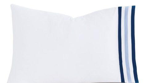 Watermill Indigo Queen Pillow
