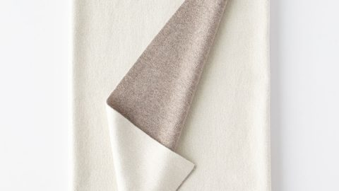 Double-Face Cashmere Throw