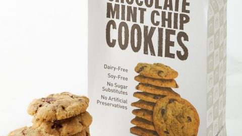 Irresistible Chocolate Mint Chip Cookies