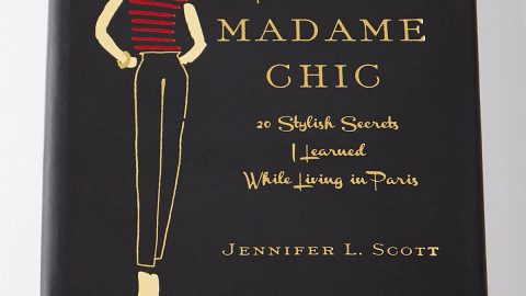 "Personalized ""Lessons From Madame Chic"" Book by Jennifer L. Scott"
