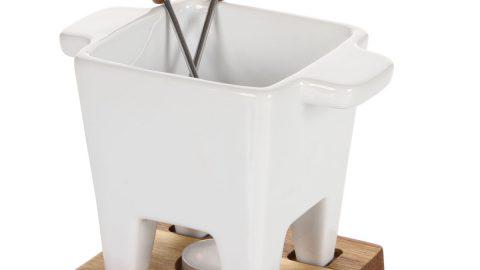White Oak Tapas Fondue Set