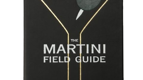 """Martini Field Guide"" Book, Personalized"