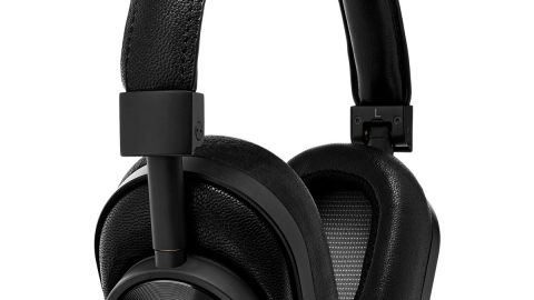 MW60 Wireless Over-Ear Headphones, Black