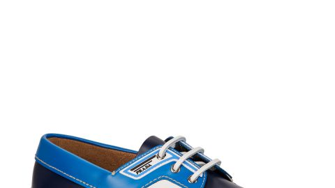Men's Lace-Up Leather Boat Shoes