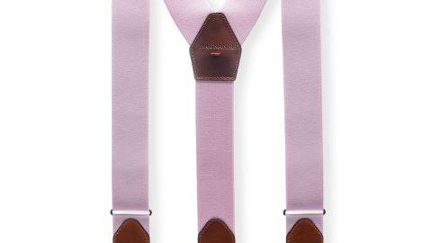Men's Lindor Leather-Trim Stretch Braces