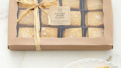 Savory Herb Crackers
