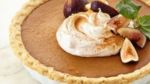 Handmade Pumpkin Pie, For 10-12 People