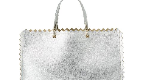 Helena Leather Tote Bag