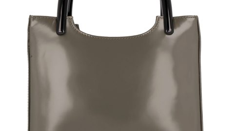 Eric Semi-Patent Tote Bag