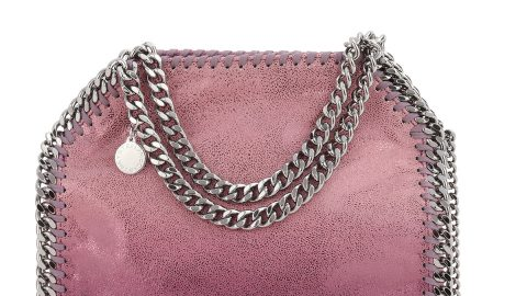 Mini Falabella Metallic Tote Bag