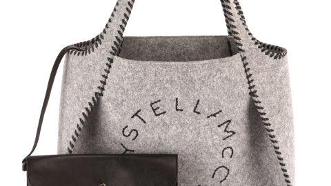 Stella Felt Logo Tote Bag