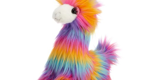 Lollipop the Rainbow Fuzzle Llamacorn Plush Toy