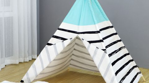Kids' Stripe Play Teepee