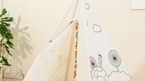 Kids' Painting Teepee