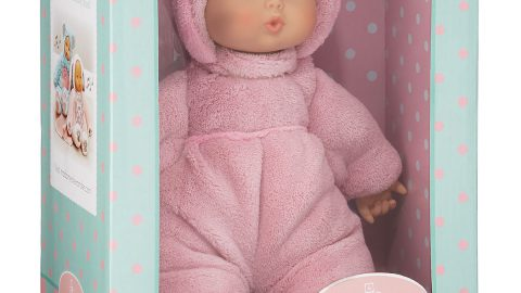 "12"" My First Baby Doll, Powder Pink"