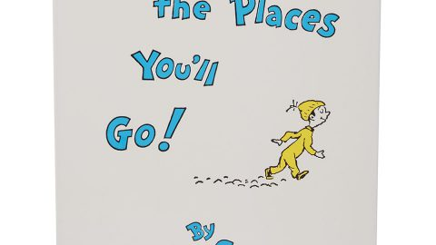 """Oh, the Places You'll Go!"" Children's Book by Dr. Seuss"