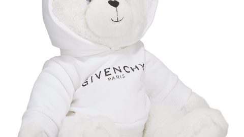 Teddy Bear in Logo Sweatshirt