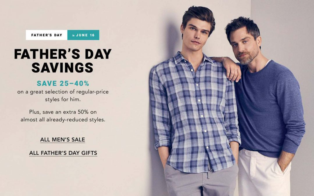 Bloomingdale's Father's Day: One-Stop Shop For Pop UP TO 40% OFF