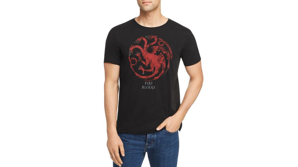Purchase John Varatos Star USA  Game Of Thrones House Targaryen Graphic Tee On Bloomingdale's Father's Day Sale Through Lemoney